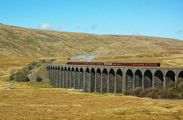 """British India Line"" on Ribblehead Viaduct"