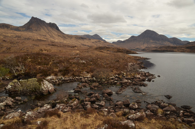 The Outlet of Loch Lurgainn, Ross-shire