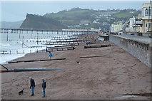 SX9473 : Beach at Teignmouth by N Chadwick