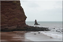 SX9574 : Hole Head and Shag Rock by N Chadwick
