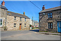 SW3733 : Trewellard : Village Road by Lewis Clarke