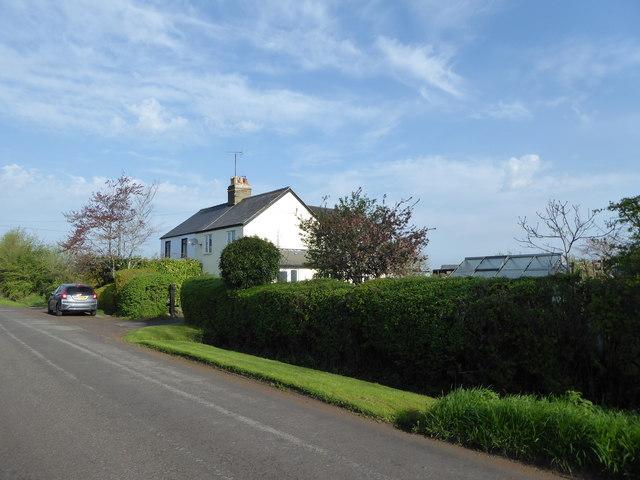 Cottages near Bournelake Farm