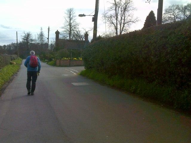 Leaving Worfield