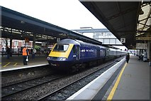 SX8671 : London Paddington Train at Newton Abbot Station by N Chadwick