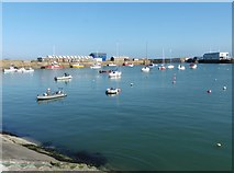 SW4730 : The harbour at Penzance by Roger Cornfoot