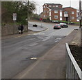 SO6303 : Start of the 20 zone, Albert Street, Lydney by Jaggery