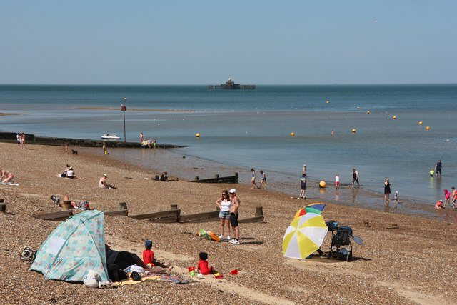 herne bay beach oast house archive geograph britain. Black Bedroom Furniture Sets. Home Design Ideas