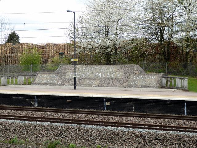 Lichfield Trent Valley Station