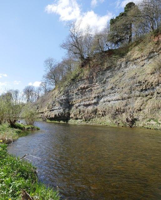 Whiteadder Water, upstream from Bluestone Ford