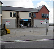 ST1599 : Greggs in Bargoed town centre by Jaggery