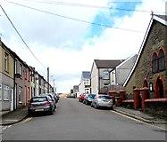 ST1599 : Greenfield Street, Bargoed by Jaggery