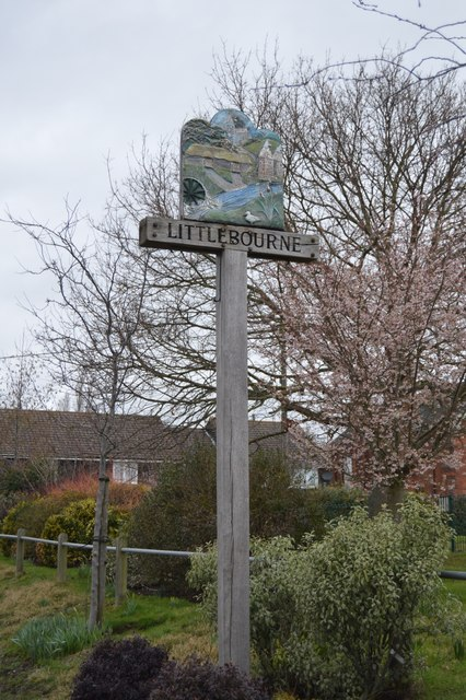 Littlebourne Village Sign