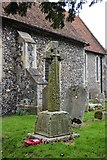 TR2157 : War Memorial, Church of St Vincent by N Chadwick