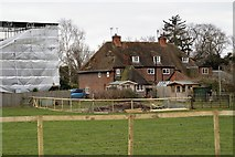 TR2157 : House on the edge of Littlebourne by N Chadwick