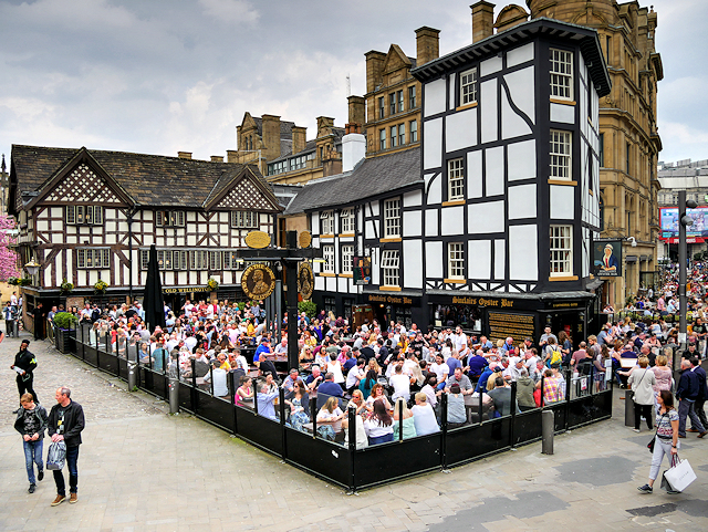 Shambles Square, The Old Wellington and Sinclair's Oyster Bar
