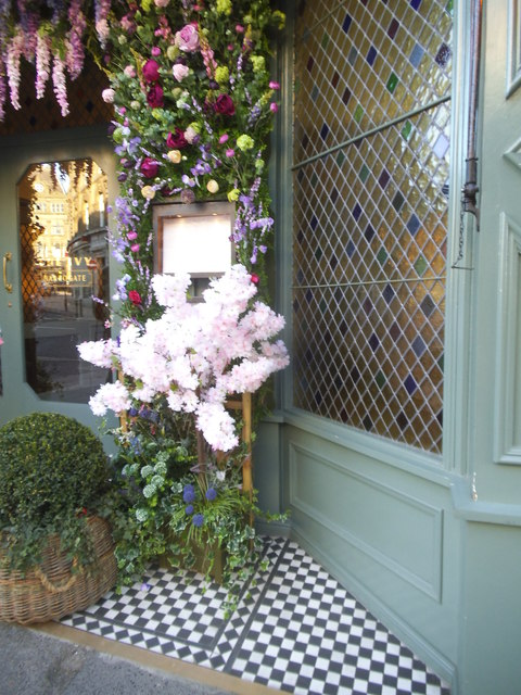 The entrance to The Ivy, Harrogate