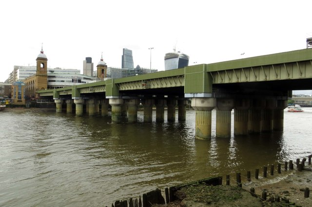 Cannon Street Bridge over the River Thames
