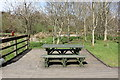 NX0163 : Picnic Area, Aldouran Wetland Garden by Billy McCrorie