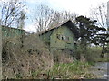 SO8004 : Former boathouse of Wycliffe College, Stroudwater Canal by Vieve Forward