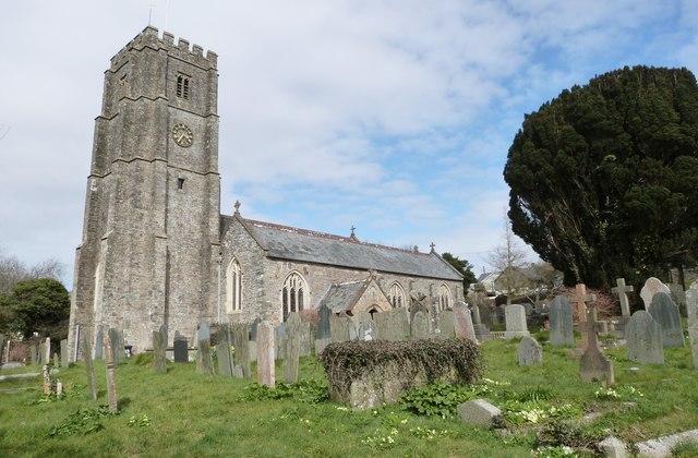 St Georges Church, Georgeham, Devon