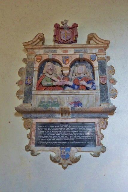 Interior of St Calixtus Church, West Down, Devon