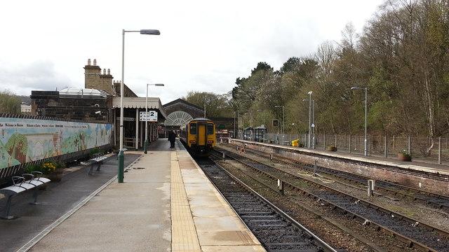 Buxton railway station