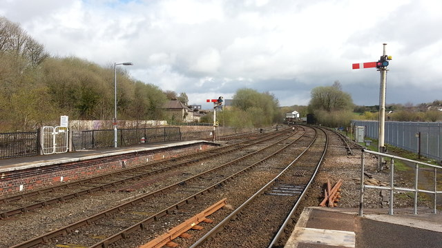 Buxton station approach