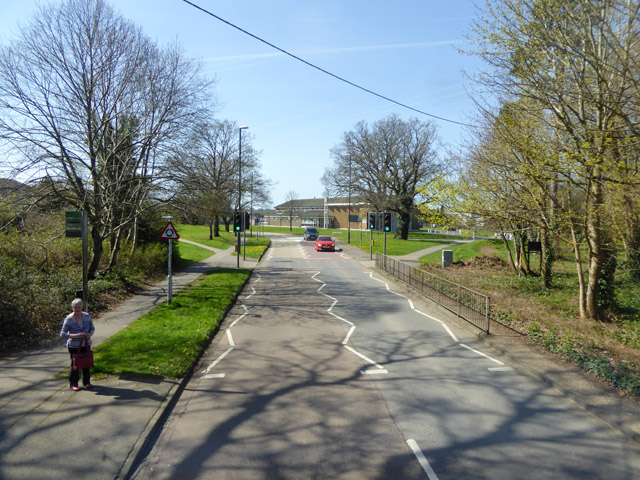 Goffs Park bus stop, Horsham Road, Crawley