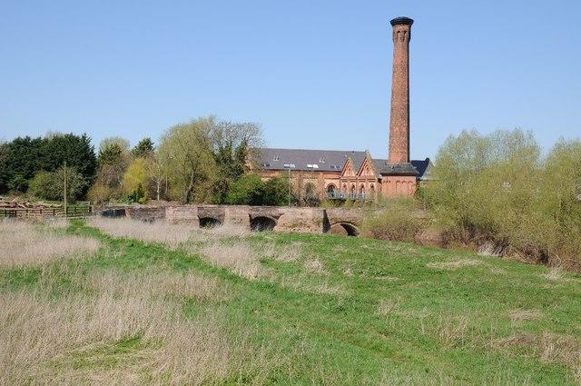 Old Powick Bridge and Mill