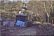 TQ2165 : Off Old Malden Lane by N Chadwick