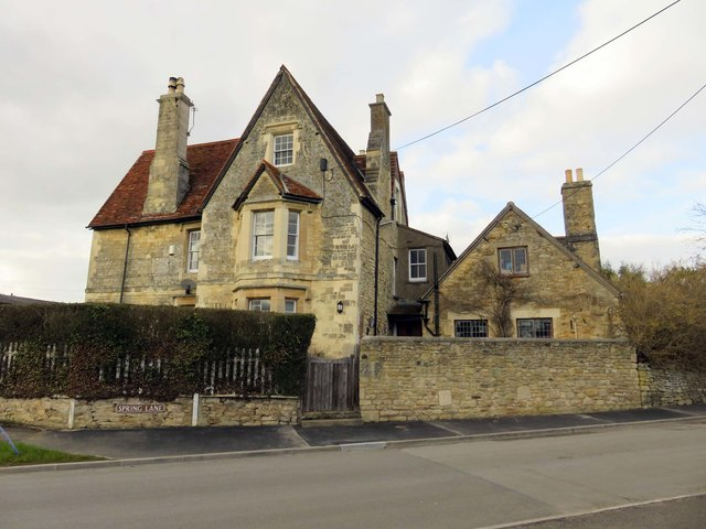 Large house on Spring Lane