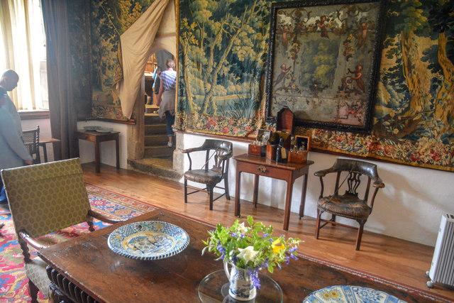 Cornwall : Cotehele House - Dining Room