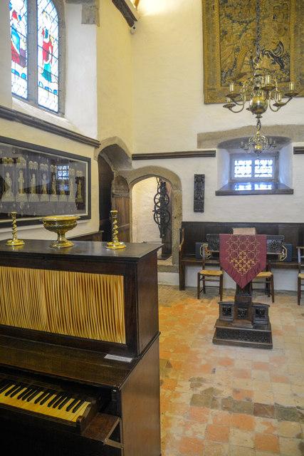 Cornwall : Cotehele House - Chapel