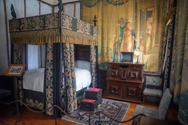 Cornwall : Cotehele House - King Charles's Rooms
