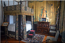 SX4268 : Cornwall : Cotehele House - King Charles's Rooms by Lewis Clarke