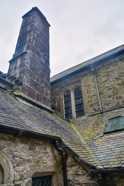 Cornwall : Cotehele House - Kitchen Court