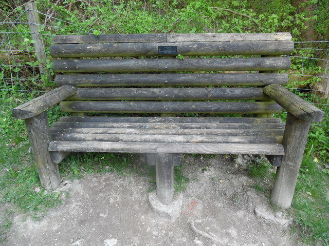 Memorial Bench at Anne's Hill