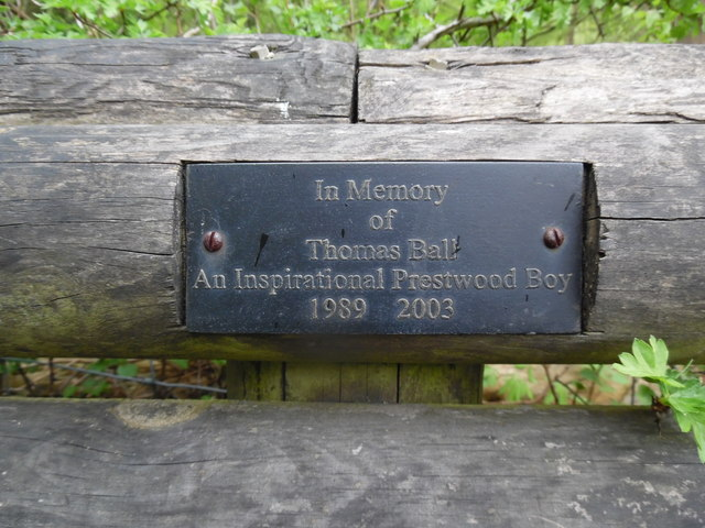 Inscription on Memorial Bench at Anne's Hill