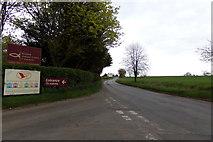 TM3869 : A1120 Yoxford Road, Yoxford by Adrian Cable