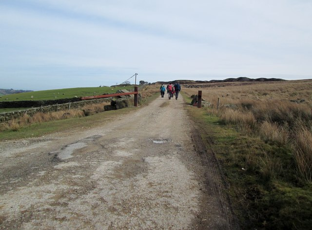 Access  road  to  disused  quarries