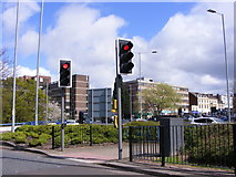 SO9098 : Ring Road Lights by Gordon Griffiths