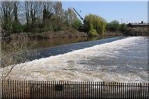 SO8453 : Diglis Weir by Philip Halling