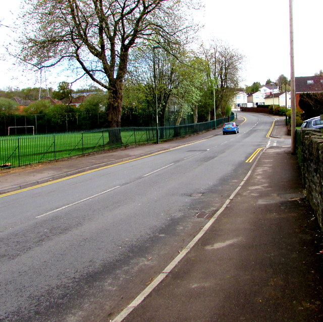 East along St David's Road, Pengam by Jaggery