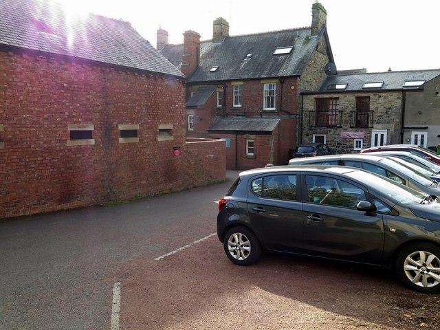 Car park and yard to rear of Ship Inn, Wylam