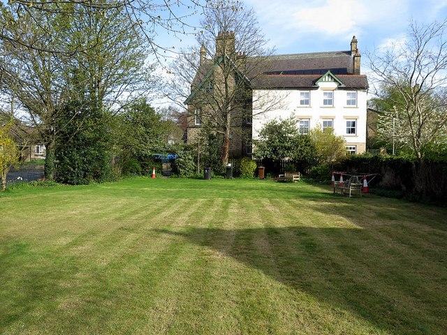 Small park near Wylam Institute