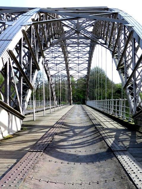 Track-bed of Hagg Bank Bridge