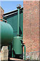 SU4924 : Twyford Pumping Station - blow down receiver by Chris Allen