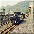 SH7045 : Blaenau Ffestiniog: 'Earl of Merioneth' arriving by John Sutton