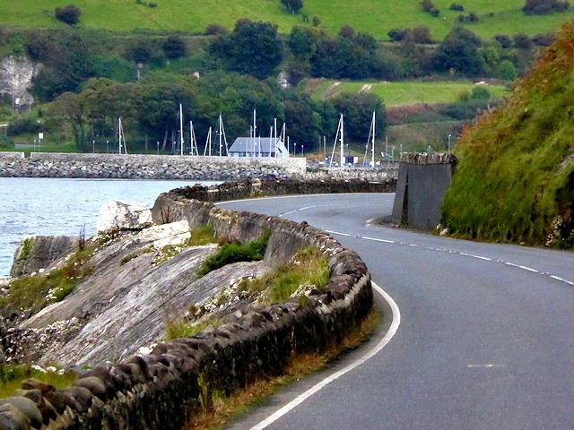 A2 Coast Road north of Glenarm