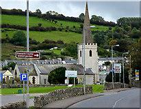 D3115 : St Patrick's Church and Glenarm Friary by David Dixon